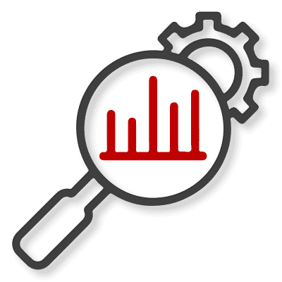 Business Research & Analysis Icon